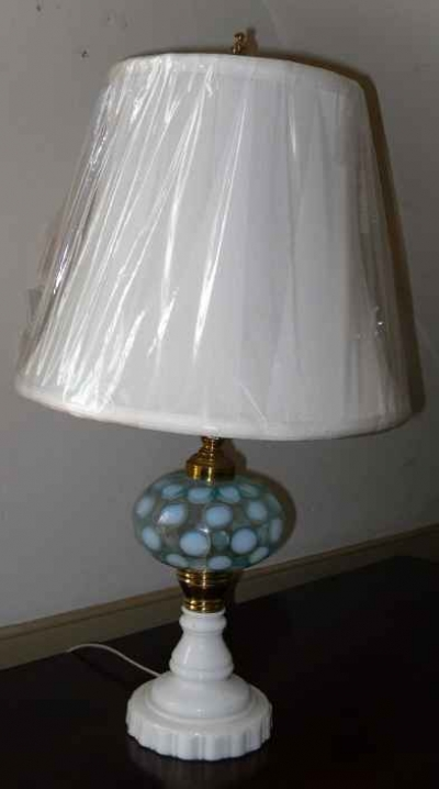 Aqua Blue Fluid Lamp