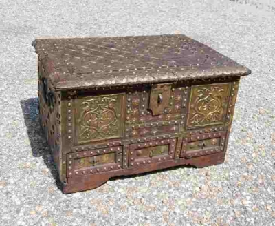 Early 17th or 18th Century Box