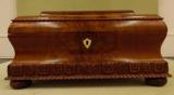 Crotch Mahogany Dresser Box