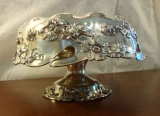 VICTORIAN SILVER PLATE CENTER BOWL