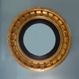 American Gilt Bull's Eye Convex Mirror
