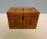 Satinwood Tea Caddy
