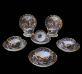 Salopian Teacups and Saucers