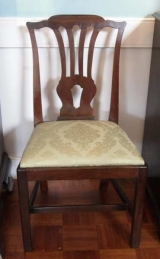 Very Good Southern Mahogany Chippendale Side Chair