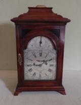 18th Century Mahogany Bracket Clock Signed Vale, Birmingham