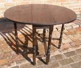 Child's Size Oak Gate Leg Table
