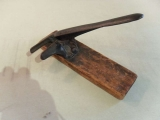 """A Museum Quality """"Wagon Cricket"""" used by the Shakers with Original Paint"""