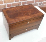 Mahogany Box with One Drawer