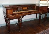 Astor & Co. Square Mahogany Piano, English, Ca. 1823