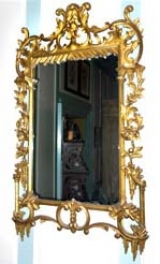 Early 19th Century Rococo Gilded Mirror