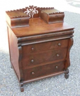 Mahogany Salesman Sample of Child's Chest
