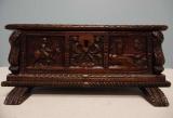 Carved Walnut Box