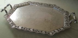 Sheffield Oblong Silver Tray
