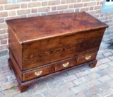 Early Southern Heart Pine Blanket Chest