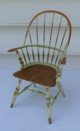 Painted Reproduction Miniature Windsor Chair