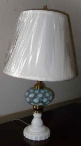 Aqua Blue Fluid Lamp