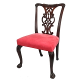 Late 18th Century Chippendale Mahogany Side Chair