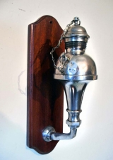 Fluid Lamp mounted to board