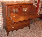 Southern Cherry Federal Secretary Chest