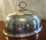 SILVER PLATE DOME FOOD COVER