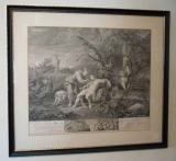 "Hogarth Print ""The Good Samaritan"""