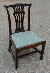 American Mahogany Chippendale Side Chair