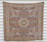 Jacquard Coverlet by May M. Siebert