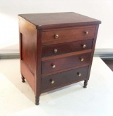 American 19th Century Cherry Miniature Chest